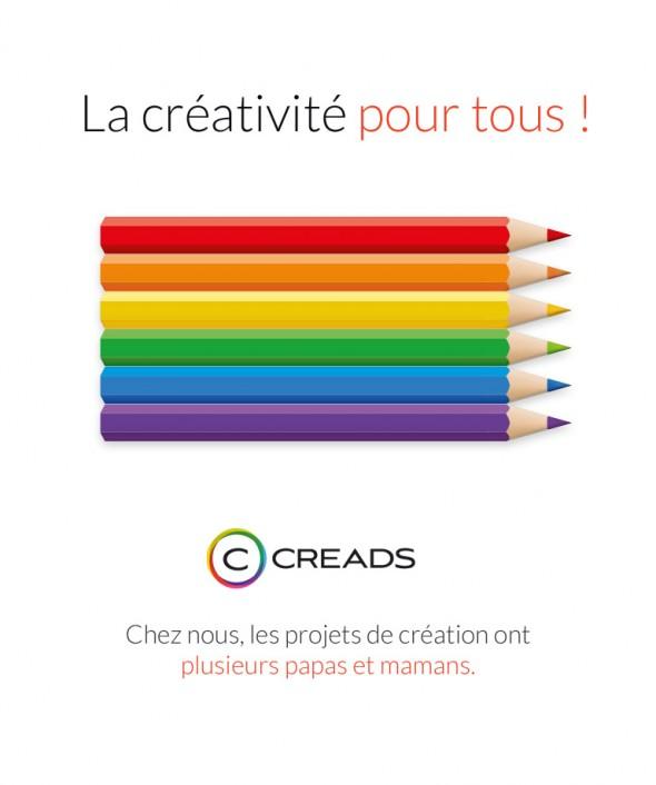 La créativité pour tous