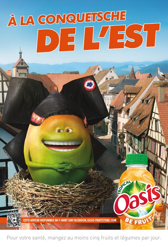 Affiche oasis Alsace