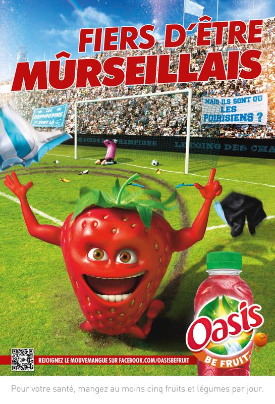 Affiche Oasis Marseille