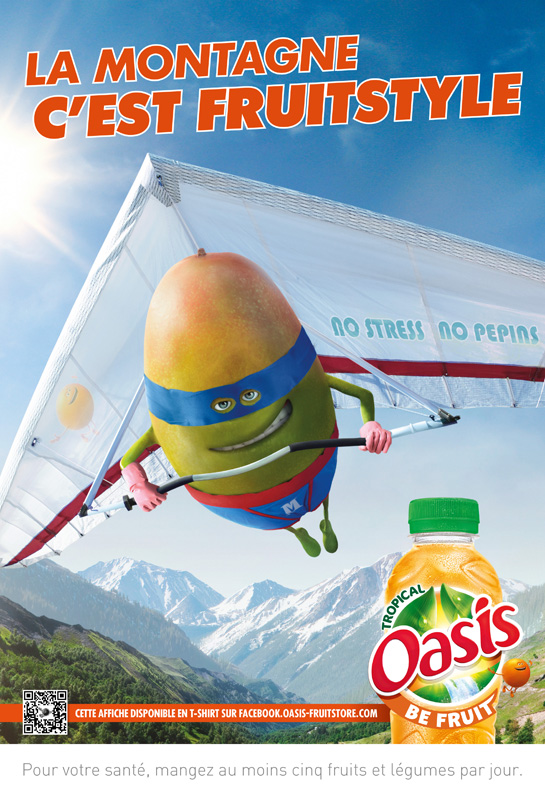 Affiche Oasis Montagne