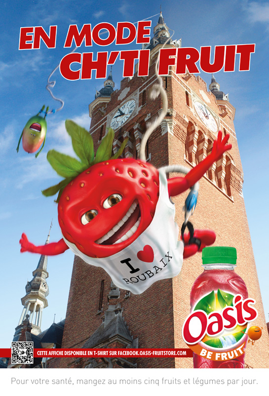 Affiche Oasis Nord