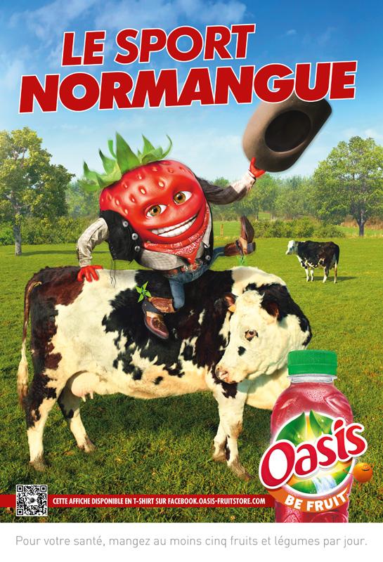 Affiche Oasis Normandie