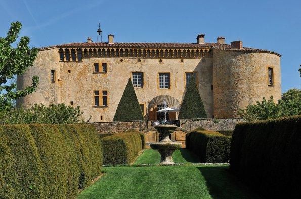 Le Château de Bagnols dans la Beaujolais