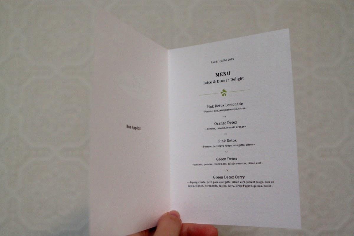 detox delight menu