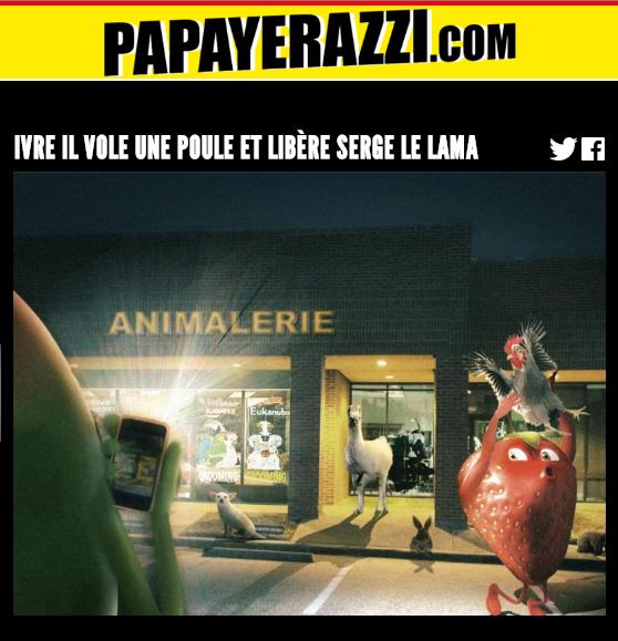Site Papayerazzi d'Oasis