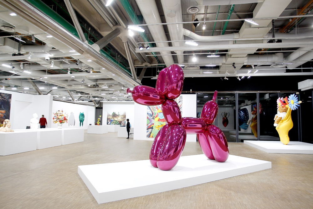 Exposition-Jeff-Koons-au-Centre-Pompidou-a-Paris