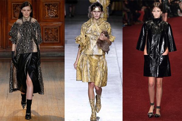 bilan-londres-fashion-week-automne-hiver-2014-tendances-python