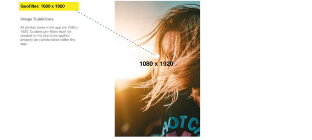 Snapchat - Formats des images
