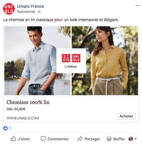 dark post Uniqlo