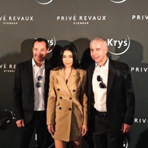 La soirée Krys x Privé Revaux France a commencé en présence de Sananas2106 Jeremy Piven et des équipes Krys et Privé Revaux