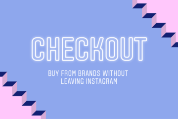 Checkout nouveau service Instagram