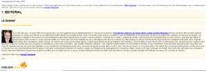 Newsletter Citronium exemple