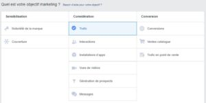 Paroles d'experts - Objectifs marketing Facebook